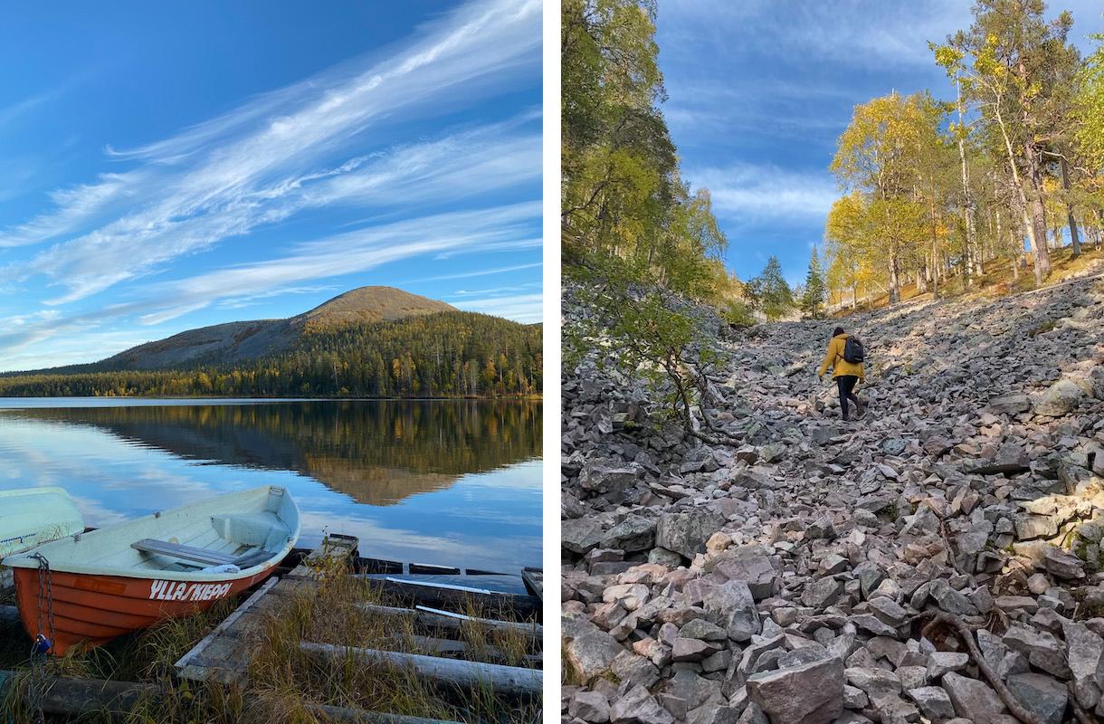 Pirunkuru ja Kesänkijärvi Ylläksellä
