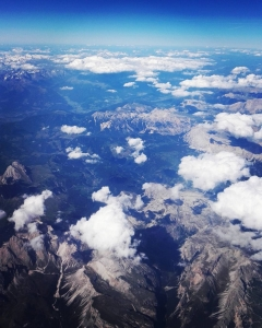 Mountains from the airplane    airplanepic mountains italyhellip