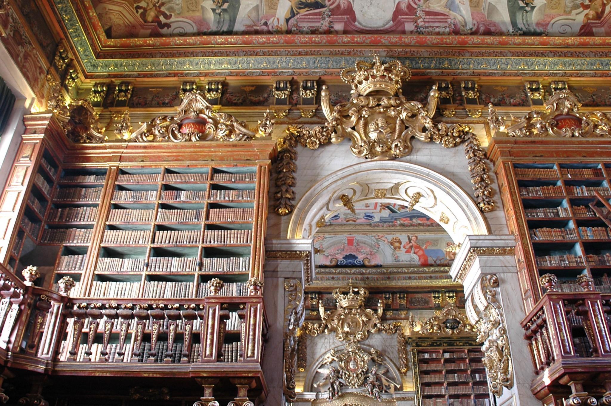 Joanine_kirjasto coimbra portugali kokemuksia nähtävyydet