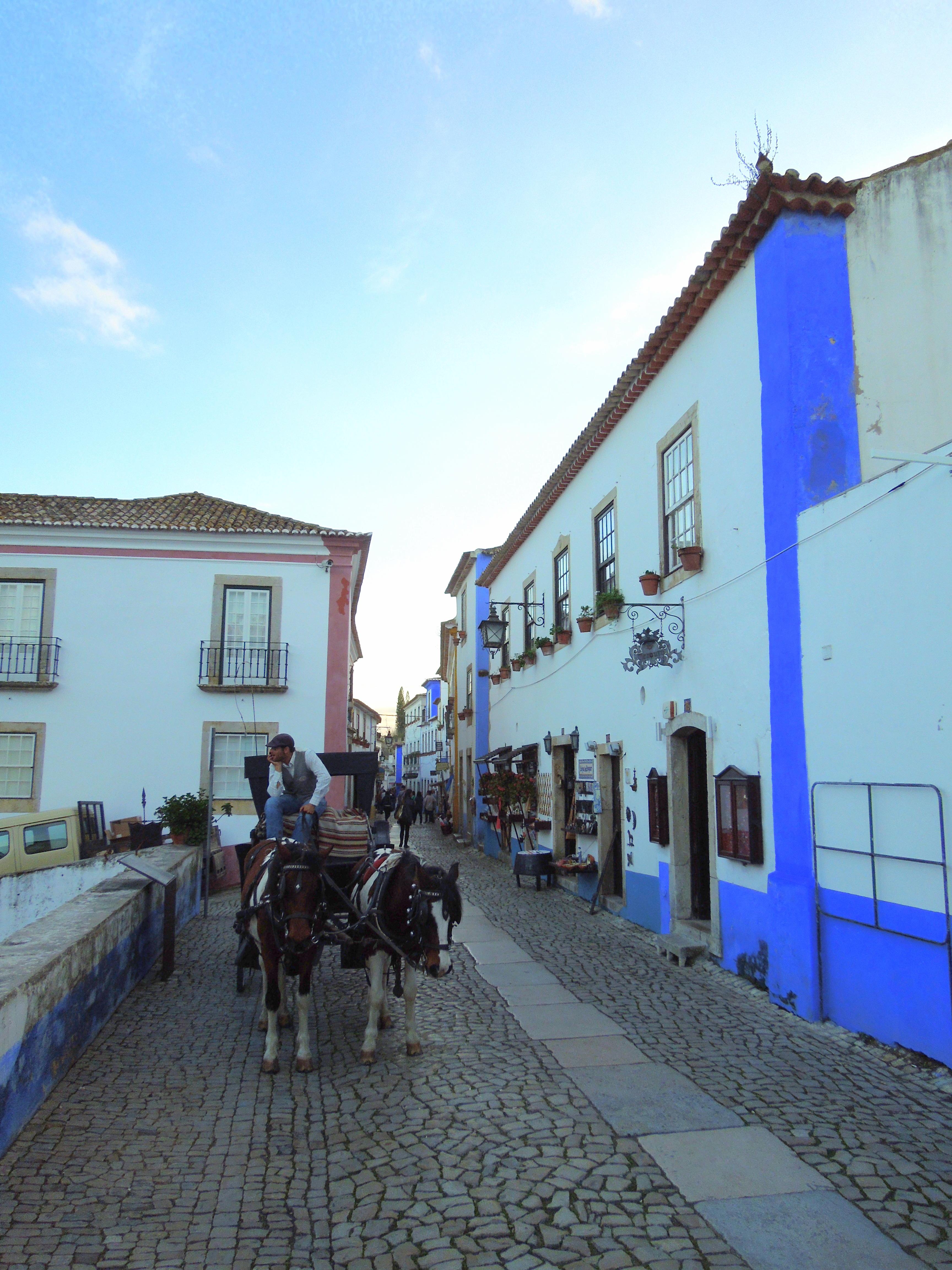 portugali rannikko obidos
