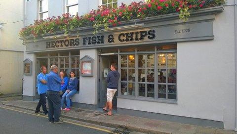 fish and Chips Jersey saari englanti ruoka
