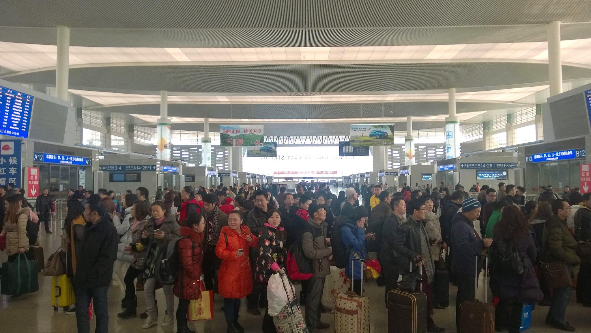 junalla junamatkustus kiinassa