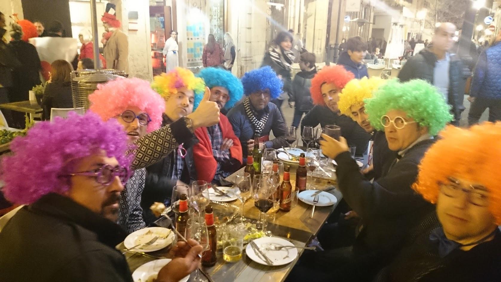Alicante karnevaali pellet