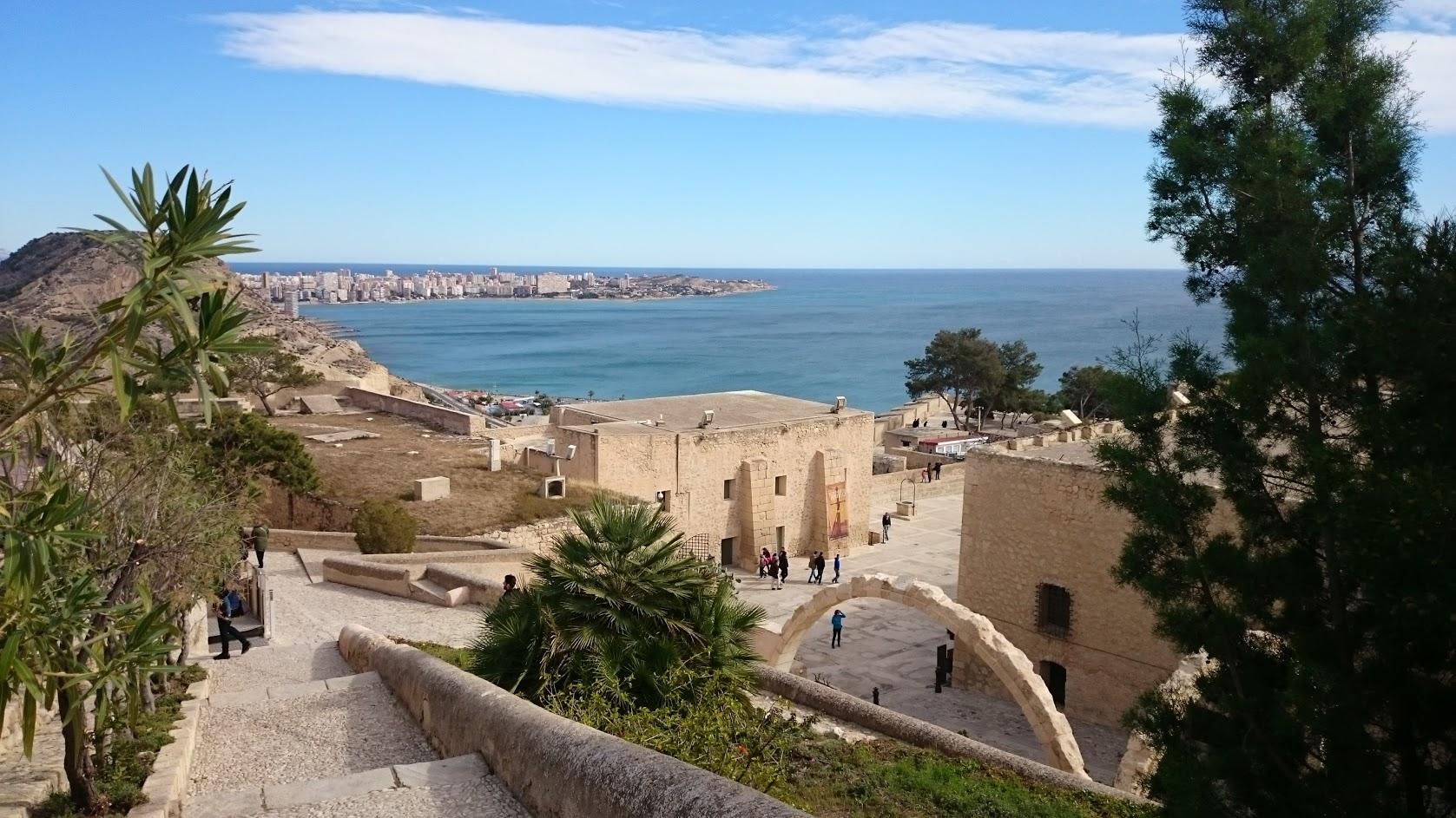 Alicante Santa Barbara Castle View