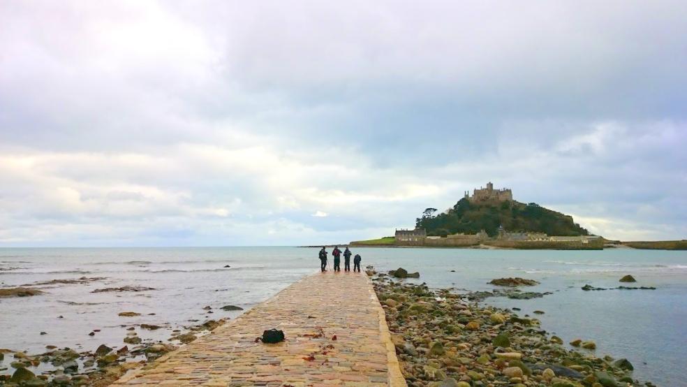 Cornwall st michaels mount linna nähtävyydet