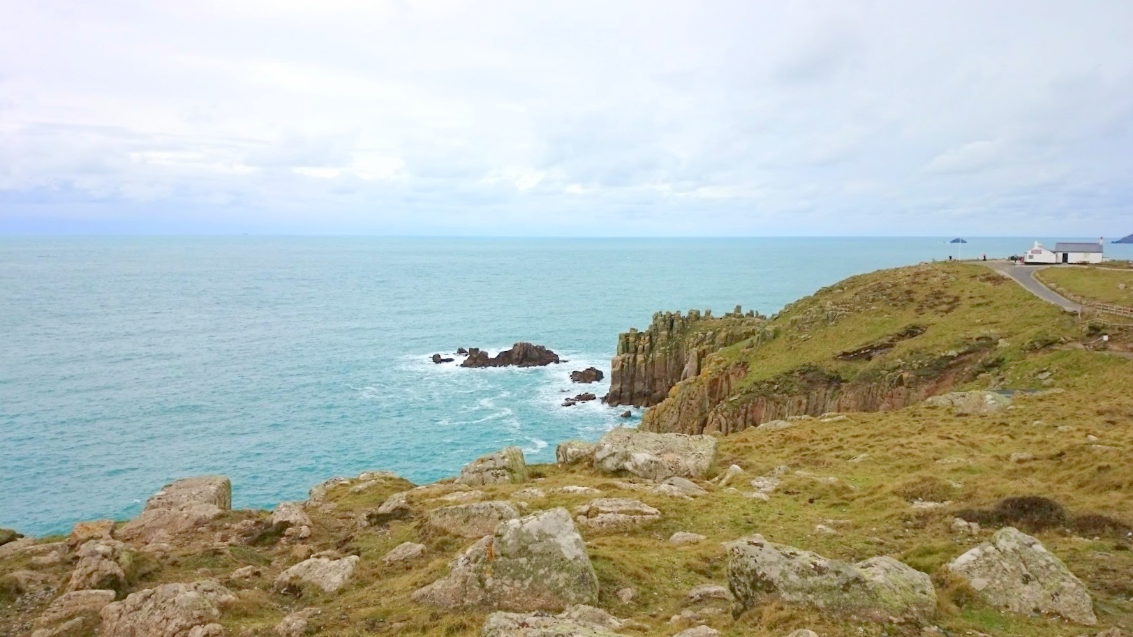 Cornwall rannikko kokemuksia lands end