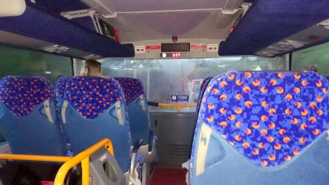 Megabus kokemuksia Englanti Lontoo Cornwall