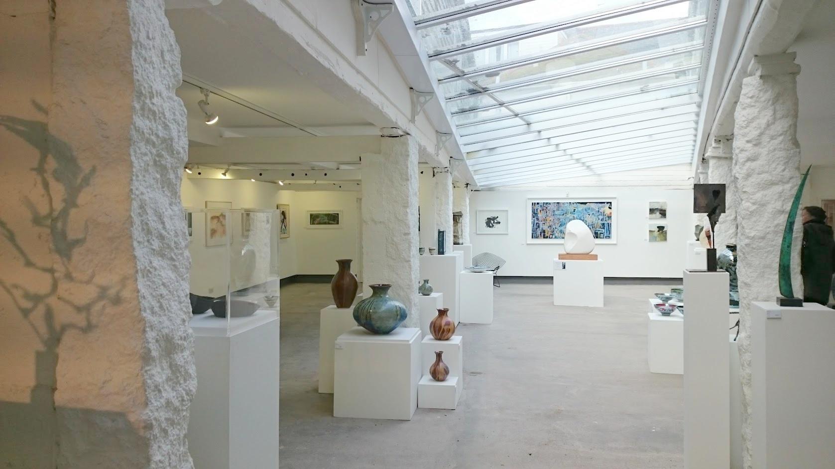 St Ives cornwall nähtävyydet taide galleria
