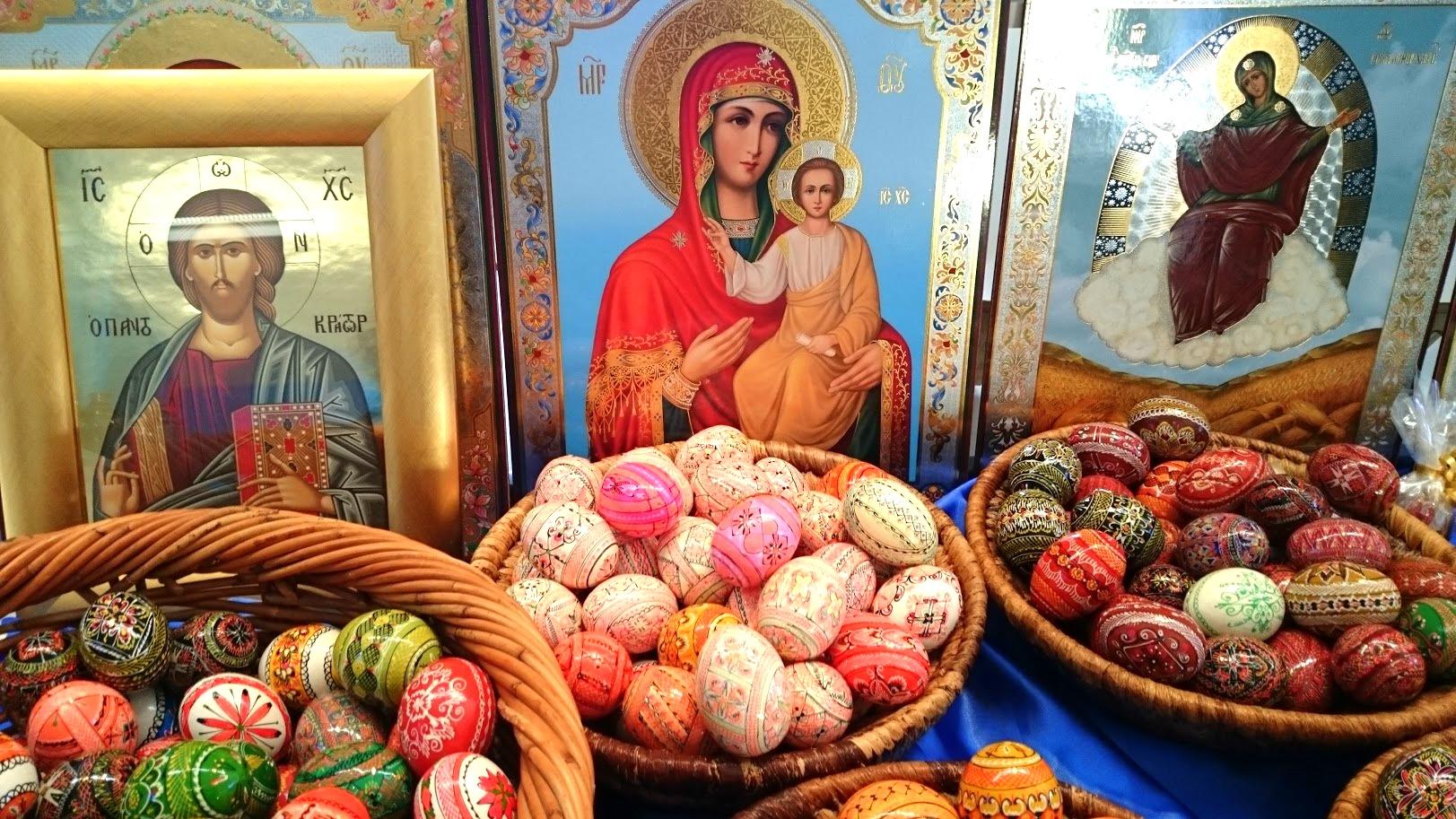 Valamon luostari ikoni pääsiäismunat