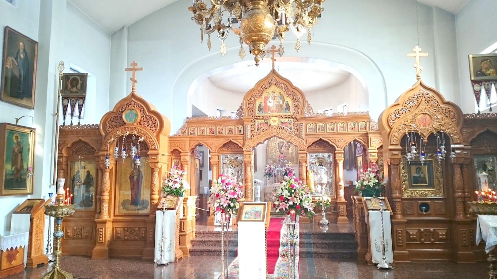 Valamo kirkko luostari pääsiäinen
