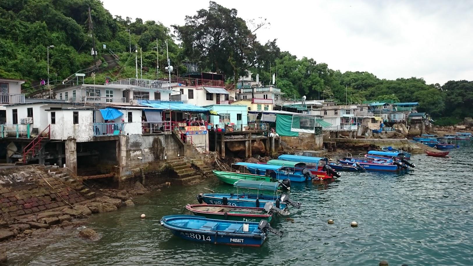 Tap Mun Hong Kong fishing port