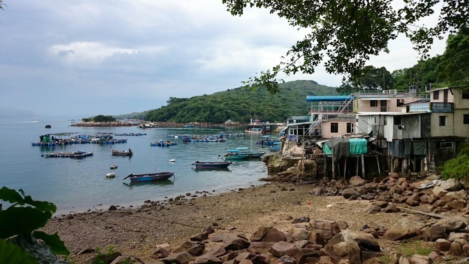 Tap Mun Hongkong fishing village