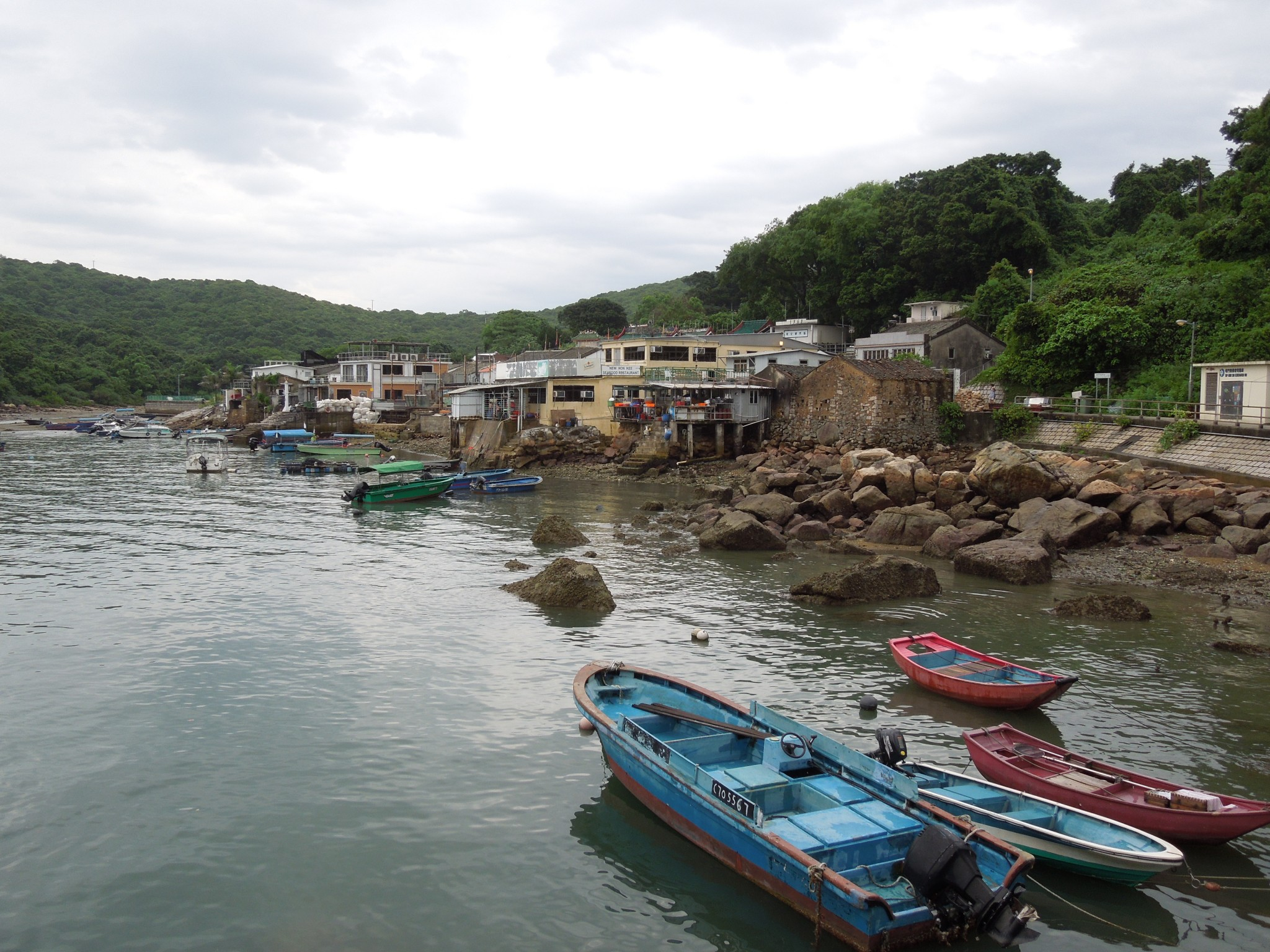 Tap Mun Hongkong fishing