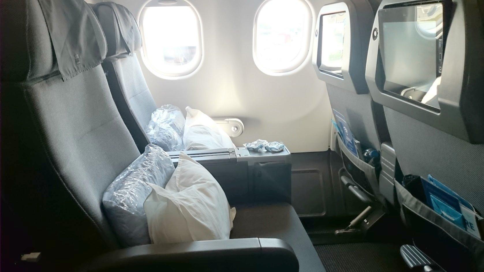 SAS Plus istuin matkustusluokka korotus kokemuksia