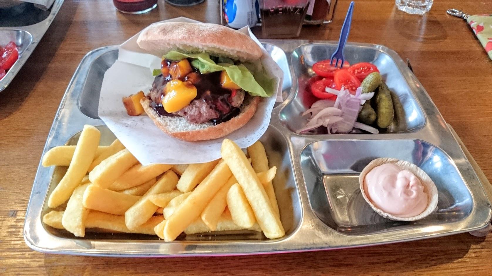 tampereen paras burgeri hampurilainen bull