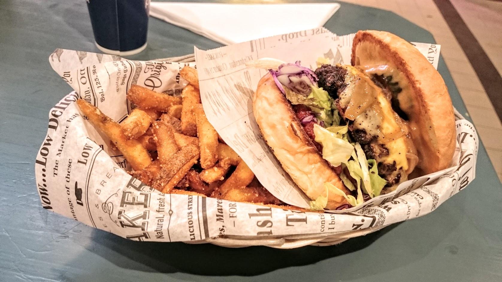 tampereen paras burgeri hampurilainen ohana