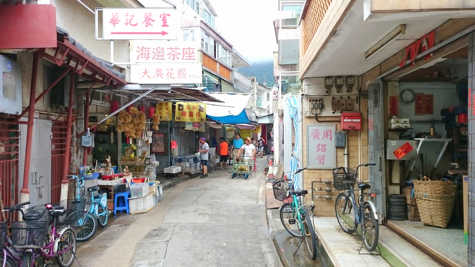 Tai O Hongkong päiväretki