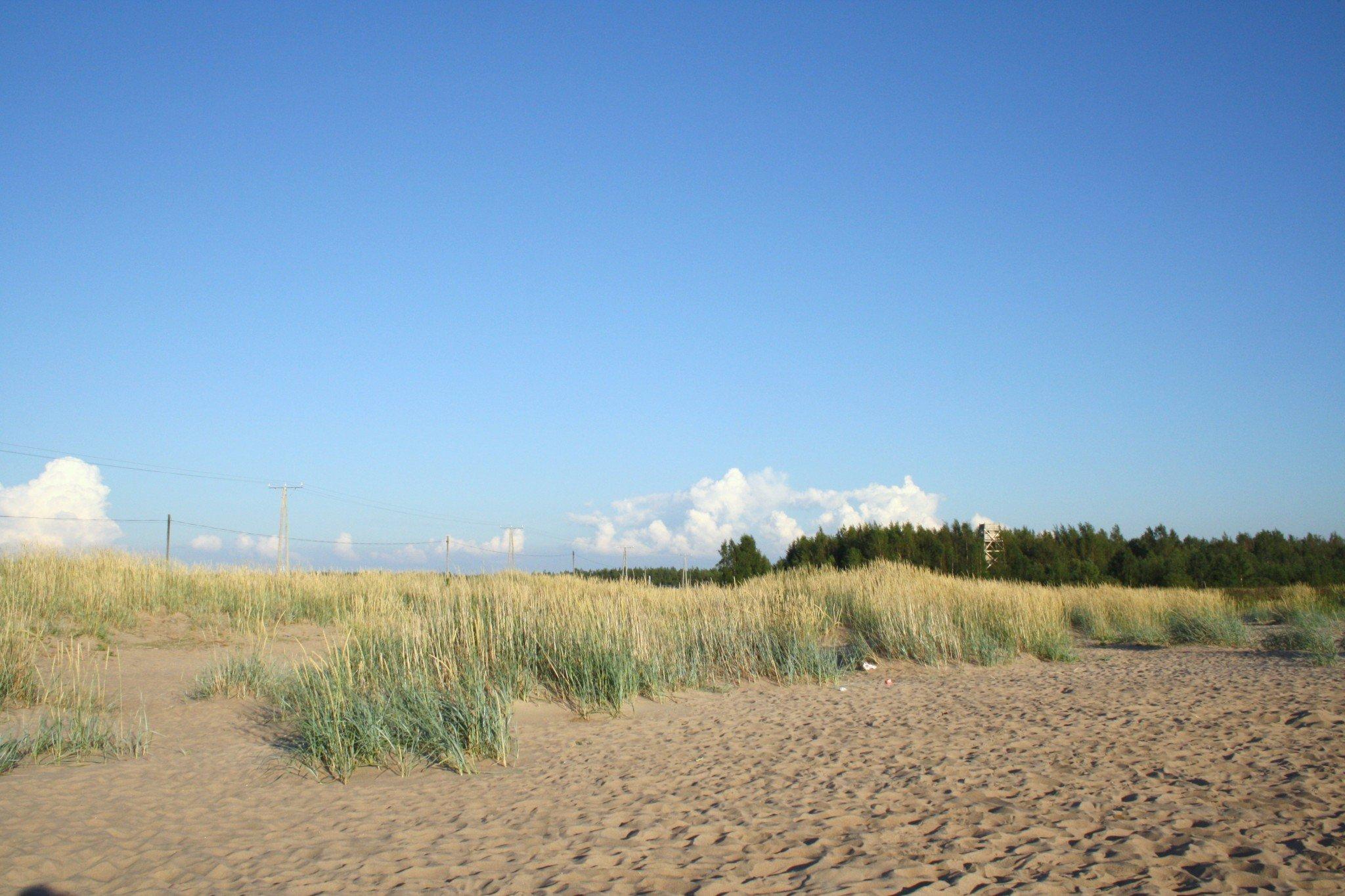 Vattaja Kokkola hiekkaranta dyynit