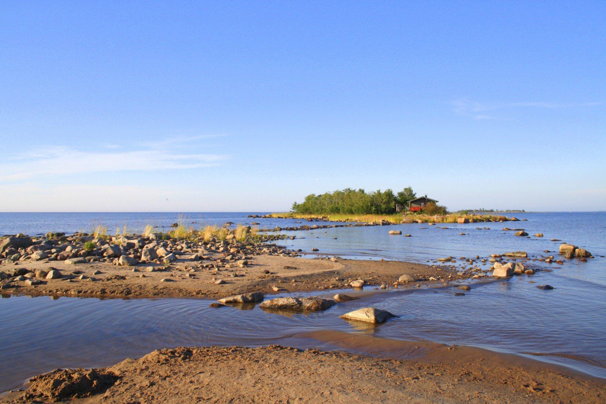 Vattaja uimaranta hiekkaranta dyynit
