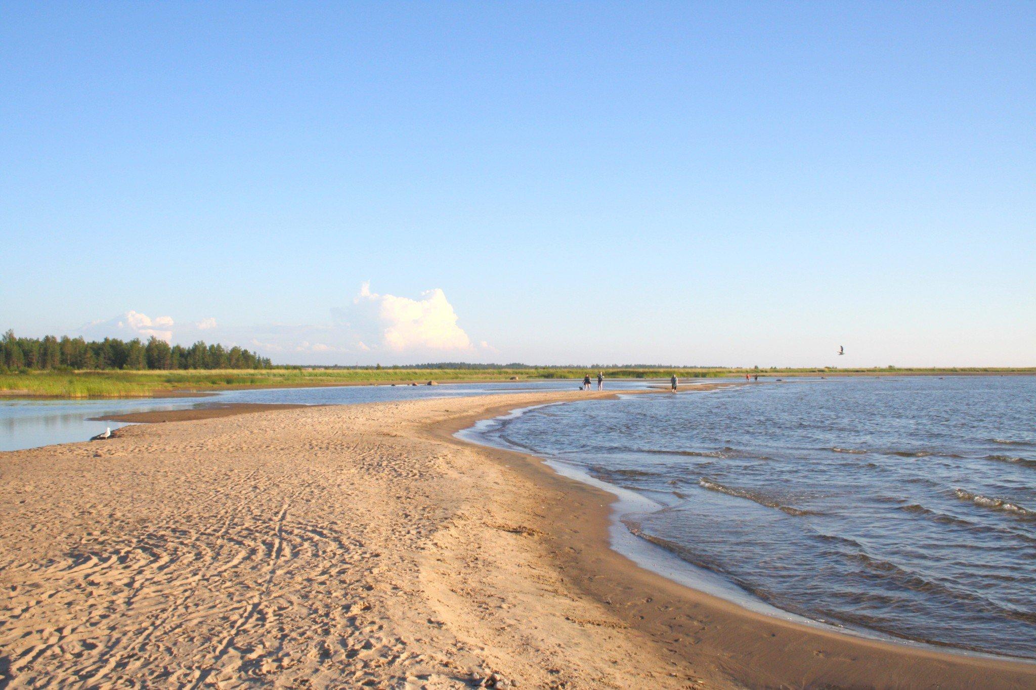 Vattajanniemi Kokkola hiekkaranta dyynit
