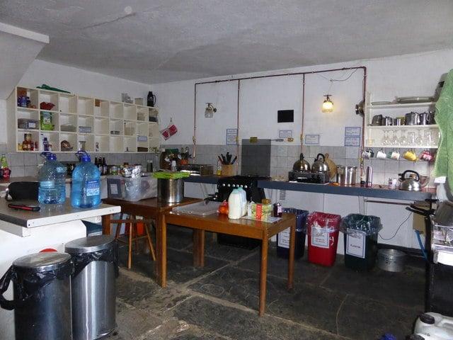 Hostelli keittiö