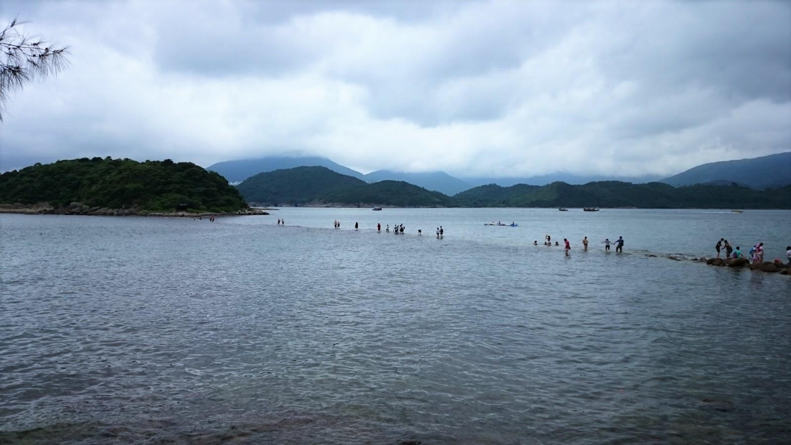 Kiu Tsui Chau saari Hongkong