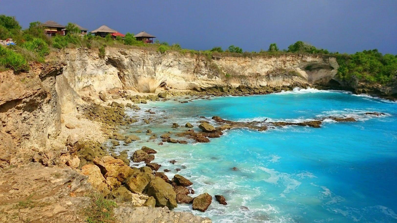 Nusa Ceningan blue lagoon Bali