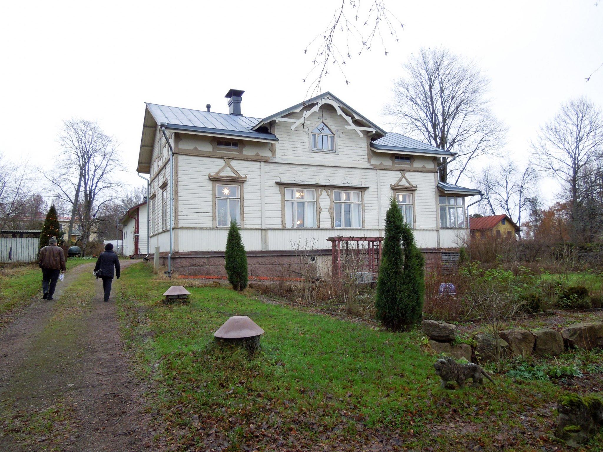 Loviisa Wanhan Ajan Joulukodit Wanhat talot Villa Aaltonen
