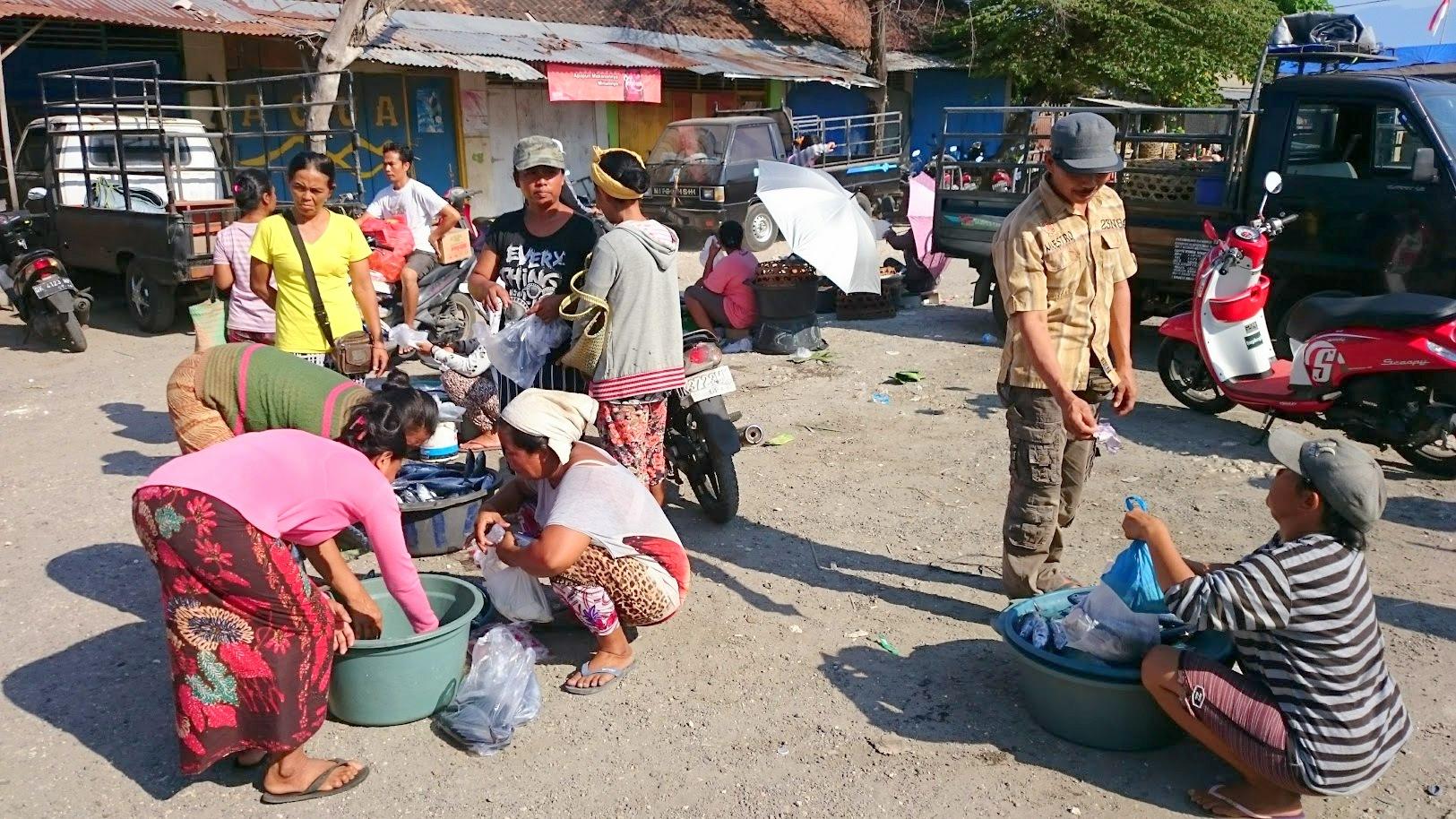 Nusa Penida markkinat