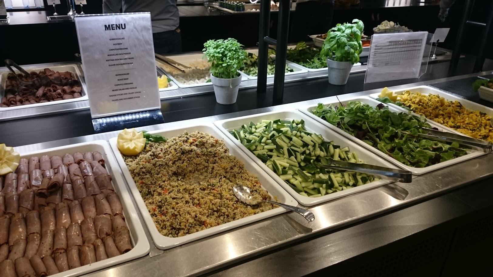 SAS lounge Tukholma ruoka lentokenttä lounge priority pass diners club