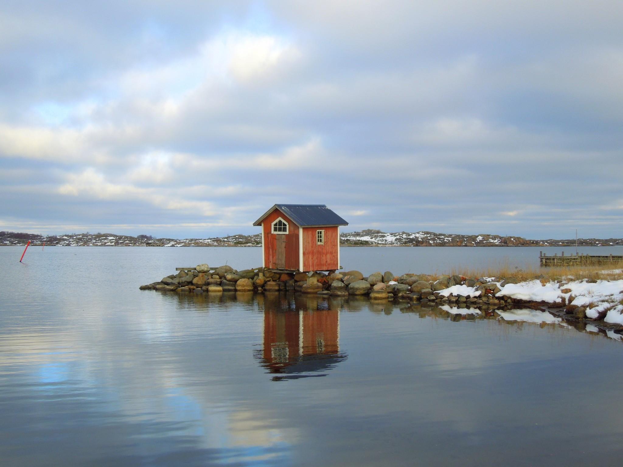 Utö saari majakka venevaja
