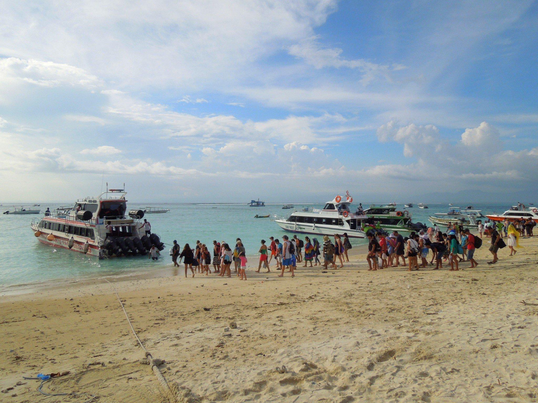 Bali pikavene Gileille Nusa Lembongan