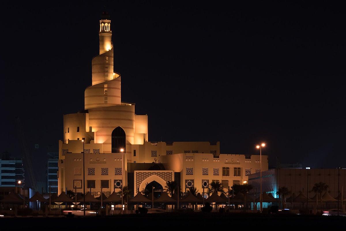 Doha qatar välilasku