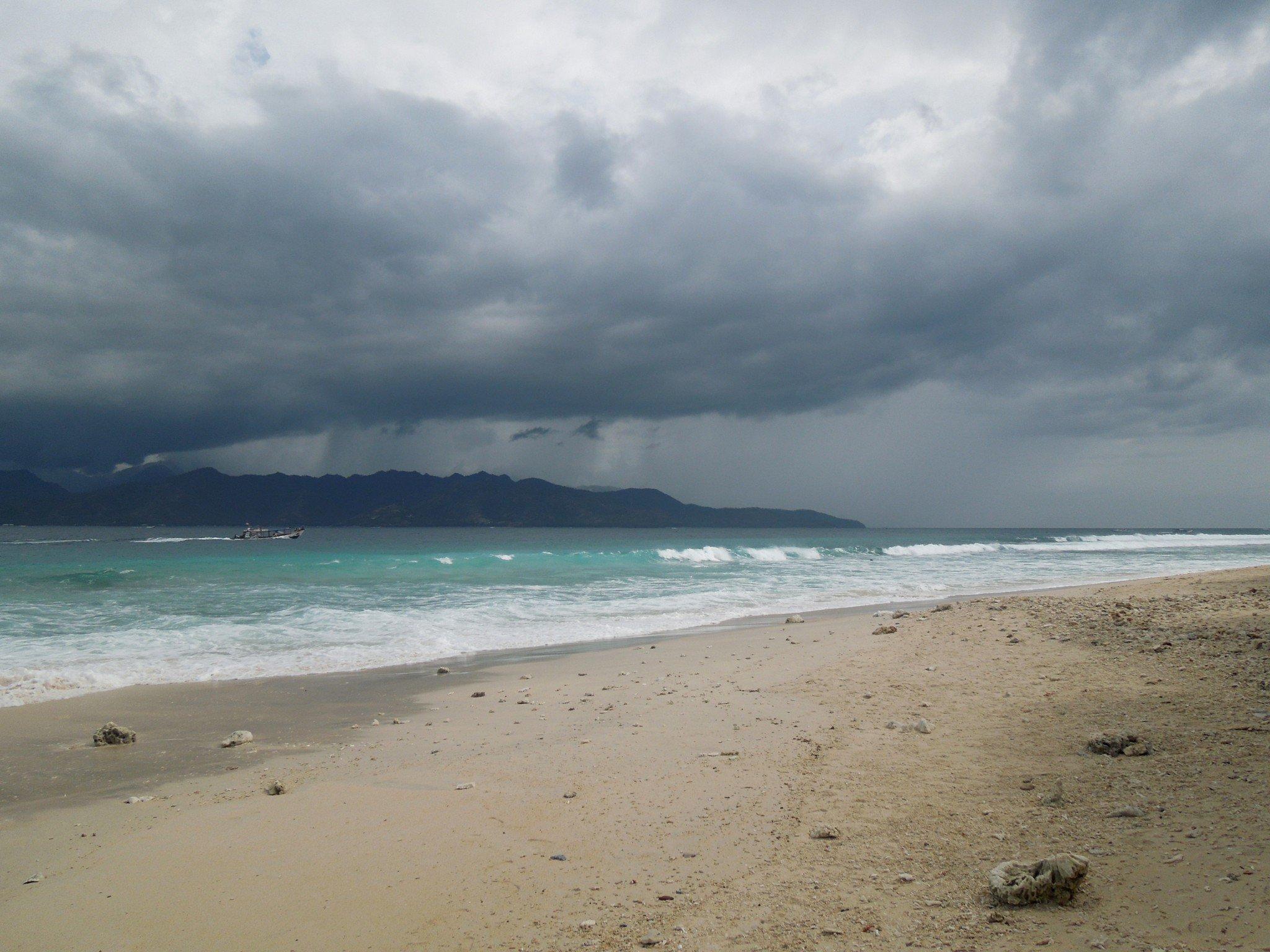 Bali pikavene Gileille Nusa Lembongan myrsky