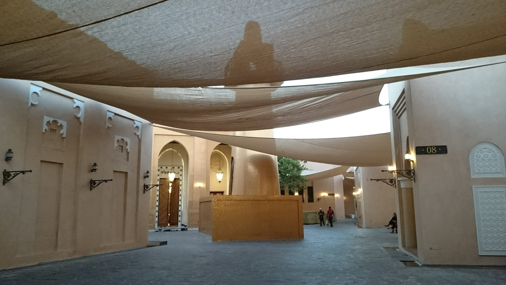 Katara Cutural village doha qatar välilasku