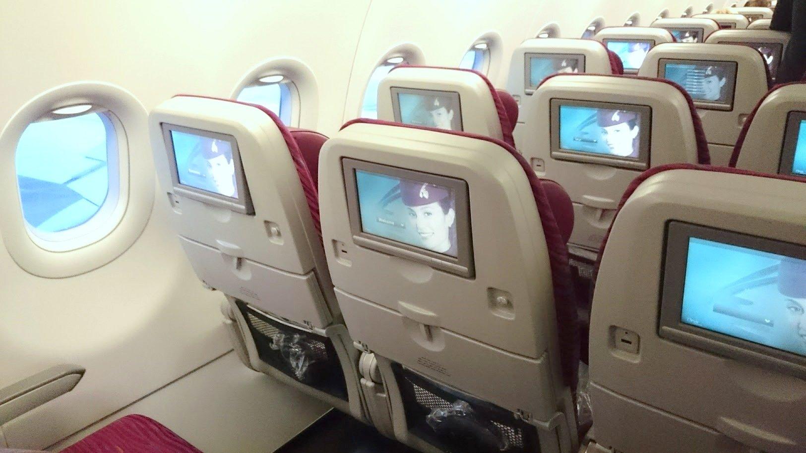 Qatar Airways lennot lentokoneet kokemuksia
