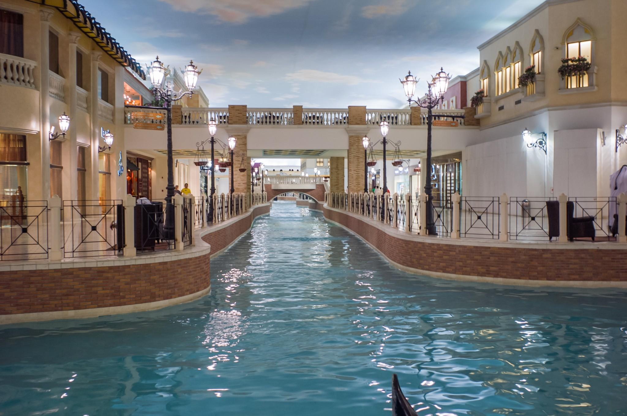 Villagio mall ostoskeskus Doha Qatar