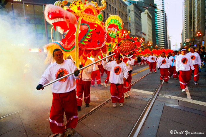Kiinalainen uusi vuosi lohikäärme