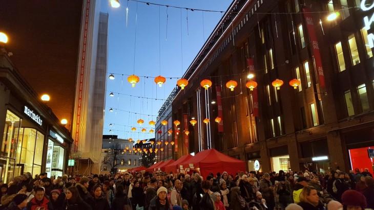 Kiinalainen uusivuosi Helsinki