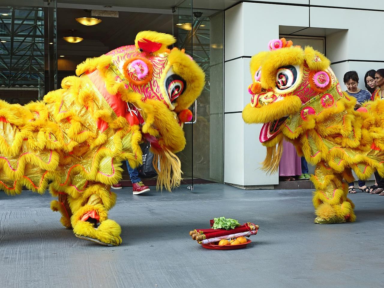 Kiinalainen uusivuosi leijona