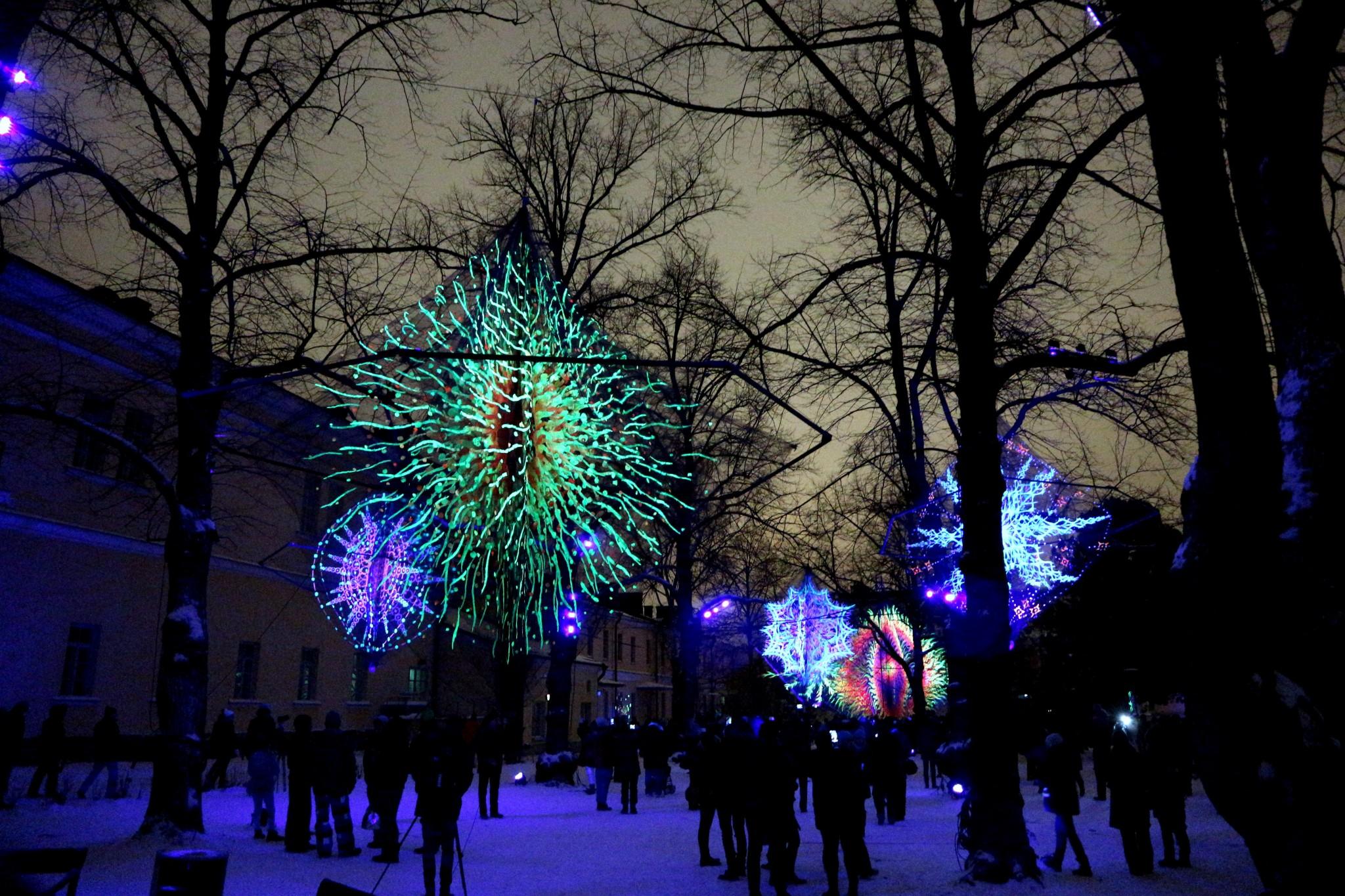 Lux Helsinki Flowers of life