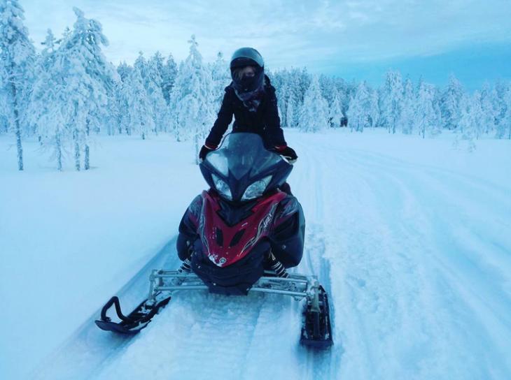 Moottorikelkkailu Kajaani instagram
