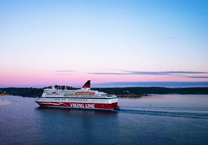Risteily Viking Line instagram