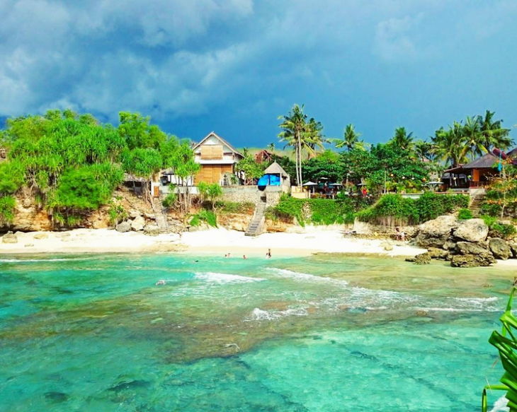 Secret Point Nusa Ceningan instagram Bali