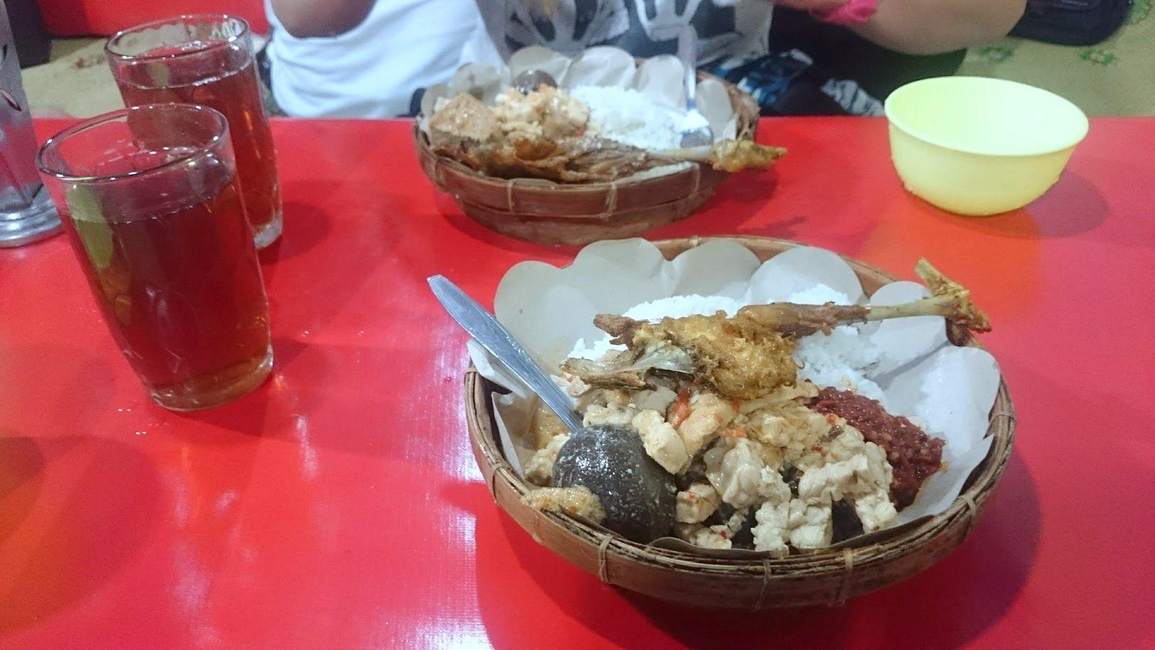 Yogyakarta Indonesia ruoka