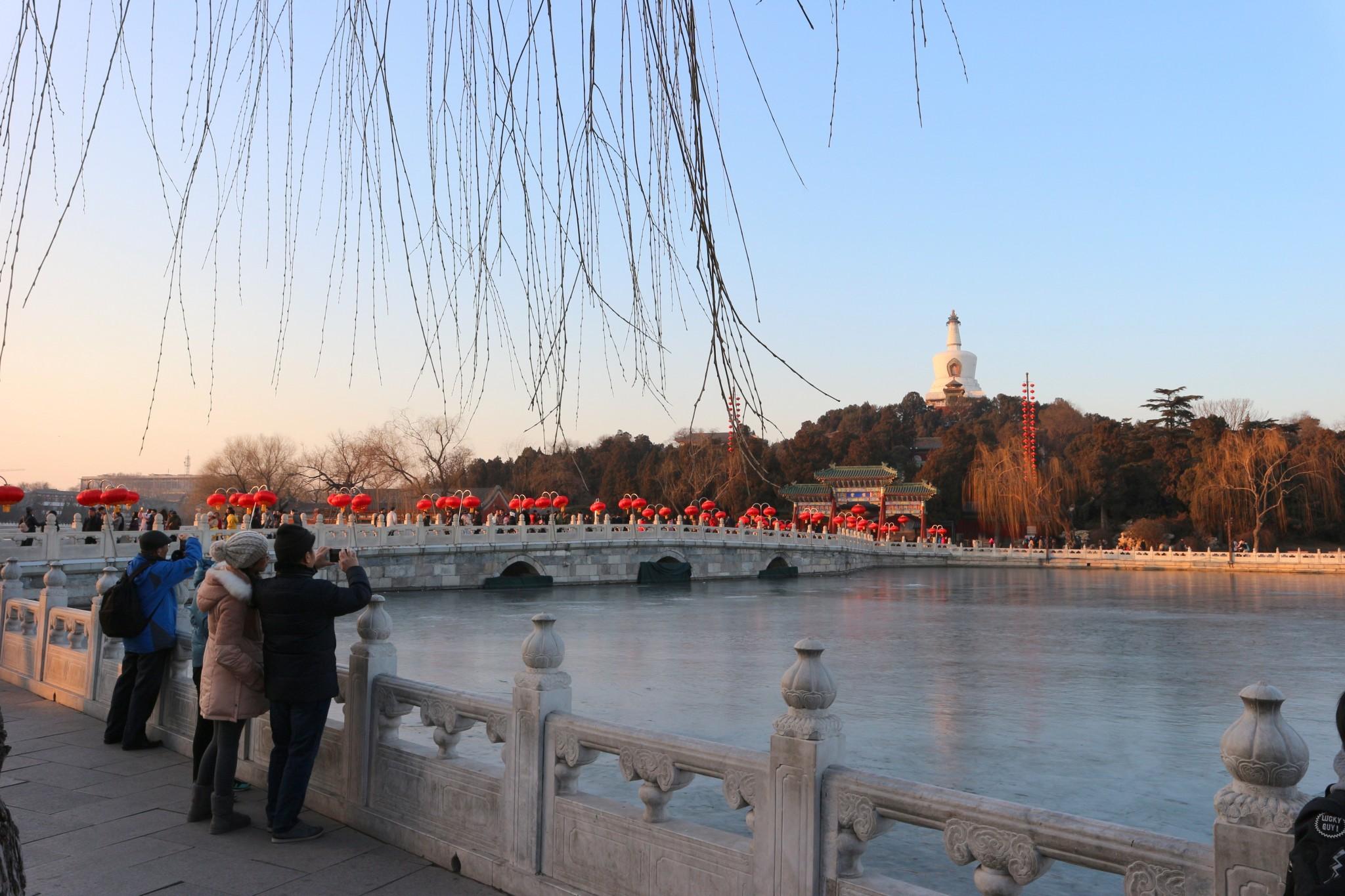 Beihai_park_Peking puisto nähtävyydet