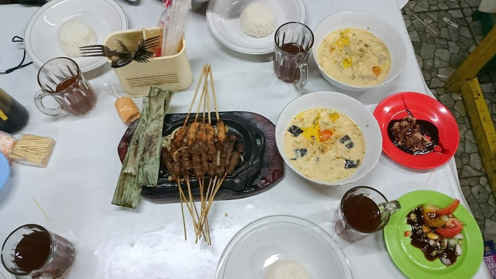 Bogor vuohikeitto Indonesia ruoka