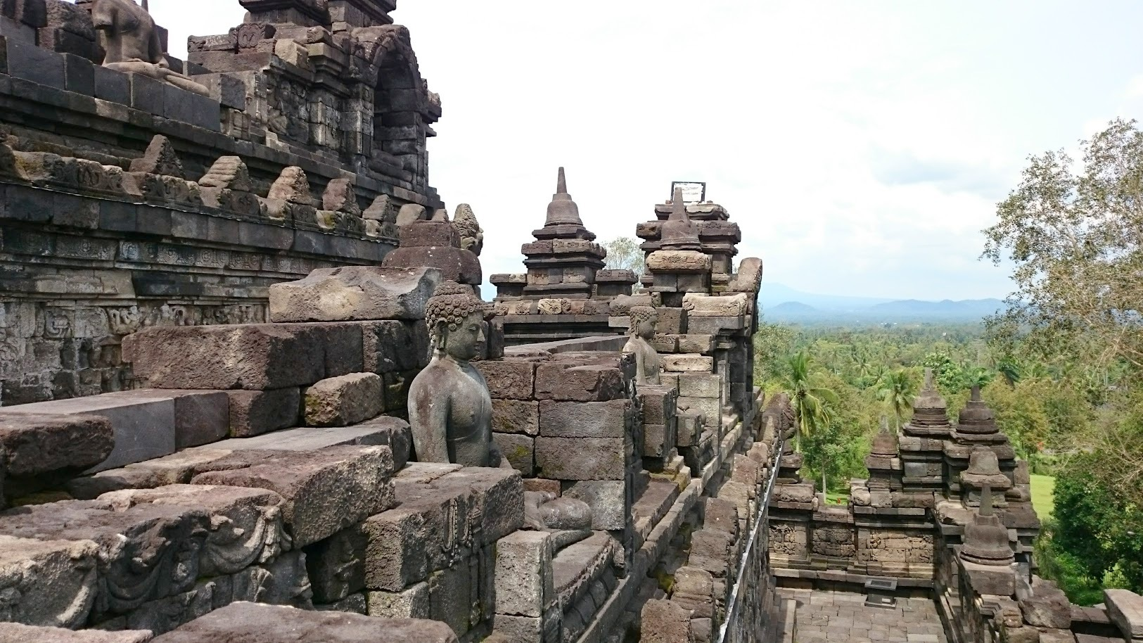 Borobudur temppeli Indonesia Yogyakarta