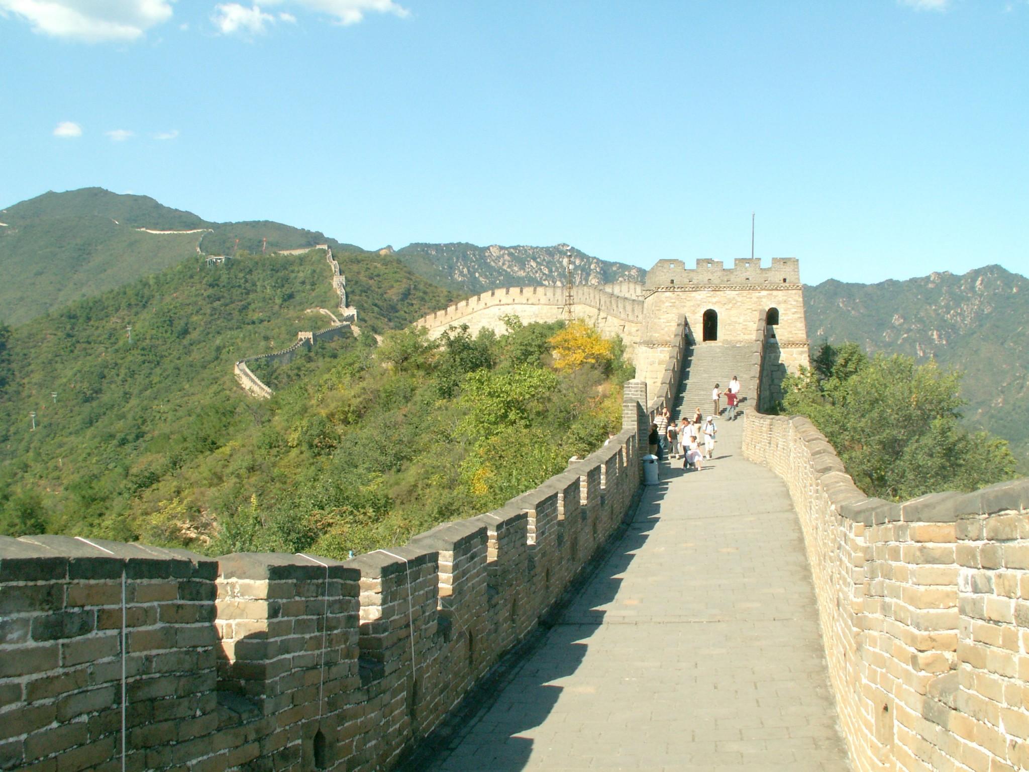 Kiinan muuri peking nähtävyydet