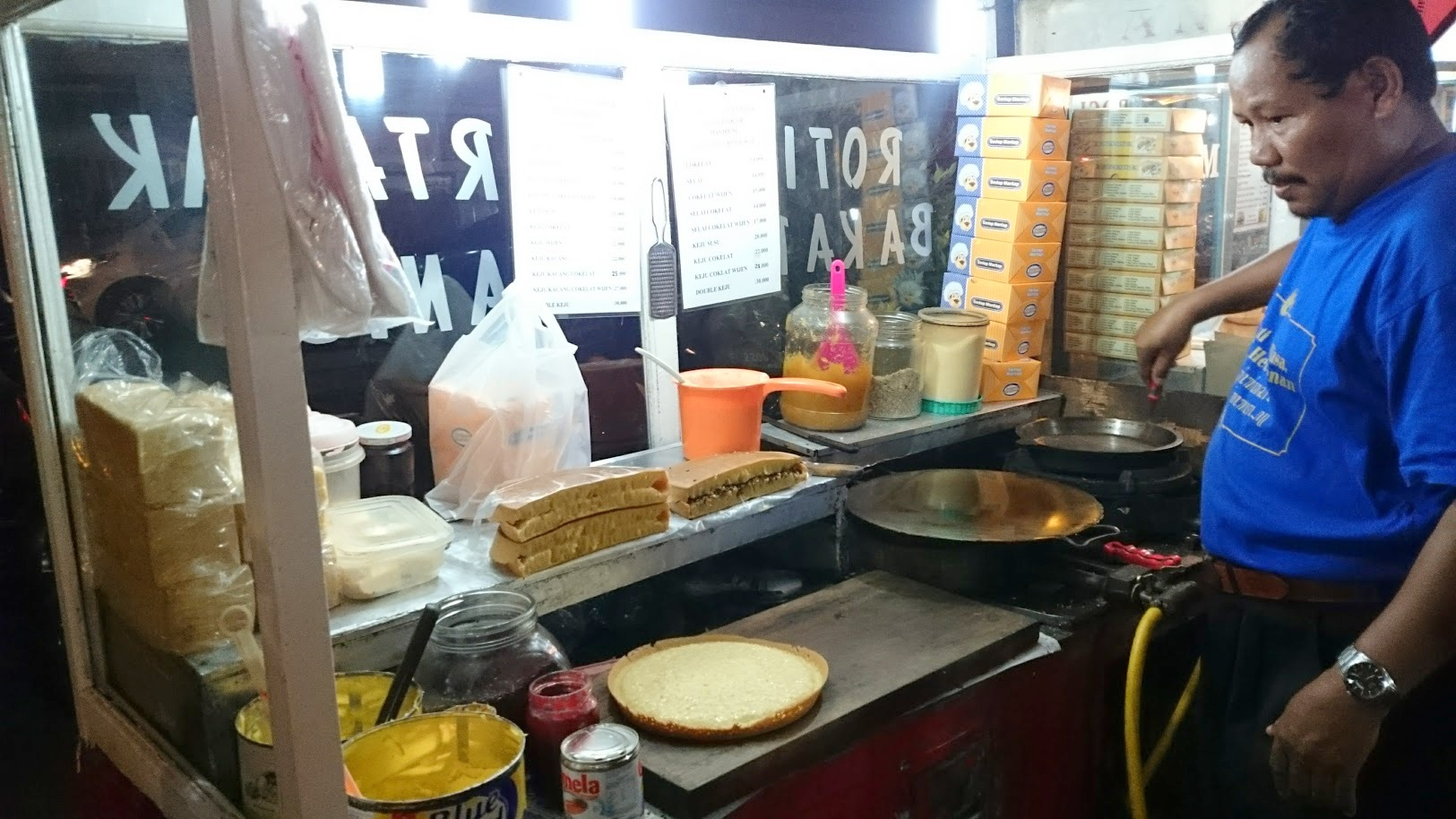 Martabak Indonesia ruoka